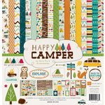 Echo Park - Happy Camper Collection - 12 x 12 Collection Kit