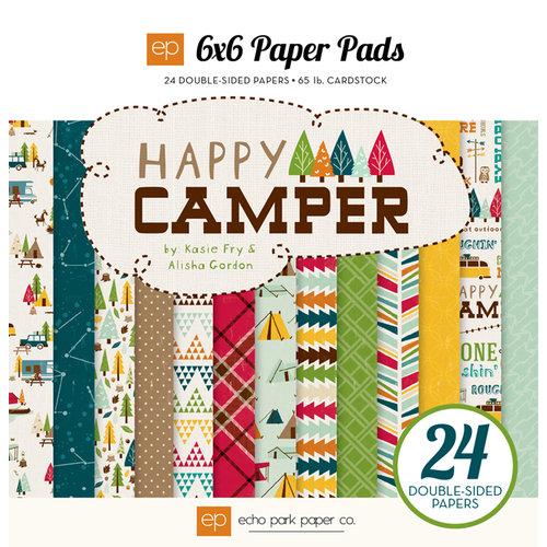 Echo Park - Happy Camper Collection - 6 x 6 Paper Pad