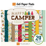 Echo Park - Happy Camper Collection - 6 x 6 Paper Pad
