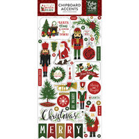 Echo Park - Christmas - Here Comes Santa Claus Collection - Chipboard Stickers - Accents
