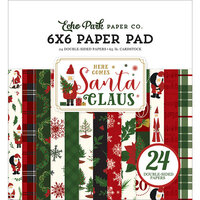 Echo Park - Christmas - Here Comes Santa Claus Collection - 6 x 6 Paper Pad