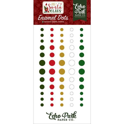Echo Park - Christmas - Here Comes Santa Claus Collection - Enamel Dots