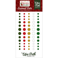 Echo Park - Christmas - Here Comes Santa Claus Collection - Enamel Dots
