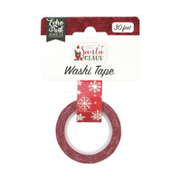 Echo Park - Christmas - Here Comes Santa Claus Collection - Decorative Tape - Snowy Sleigh Ride
