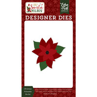 Echo Park - Christmas - Here Comes Santa Claus Collection - Designer Dies - Christmas Poinsettia
