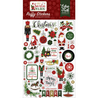 Echo Park - Christmas - Here Comes Santa Claus Collection - Puffy Stickers