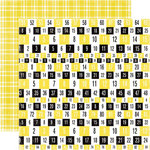Echo Park - Happy Days Collection - 12 x 12 Double Sided Paper - Numbers