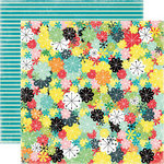 Echo Park - Happy Days Collection - 12 x 12 Double Sided Paper - Retro