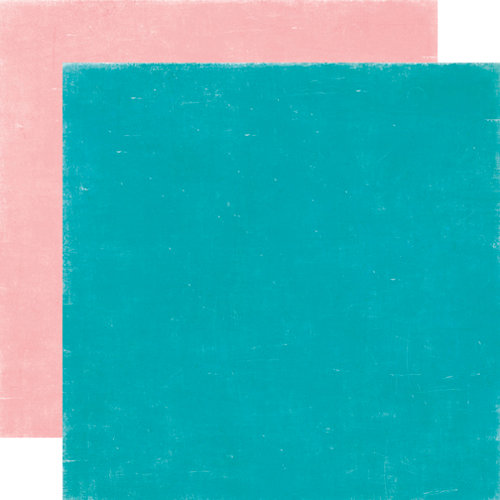 Echo Park - Happy Days Collection - 12 x 12 Double Sided Paper - Teal