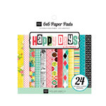 Echo Park - Happy Days Collection - 6 x 6 Paper Pad