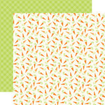 Echo Park - Happy Easter Collection - 12 x 12 Double Sided Paper - Carrots