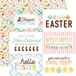 Echo Park - Hello Easter Collection - 12 x 12 Double Sided Paper - 4 x 6 Journaling Cards