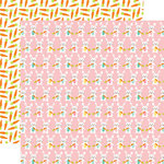 Echo Park - Hello Easter Collection - 12 x 12 Double Sided Paper - Hippity Hoppity