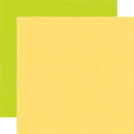 Echo Park - Hello Easter Collection - 12 x 12 Double Sided Paper - Yellow