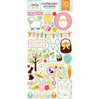 Echo Park - Hello Easter Collection - Chipboard Stickers - Accents