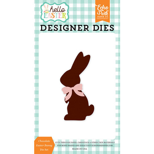 Echo Park - Hello Easter Collection - Designer Dies - Chocolate Easter Bunny