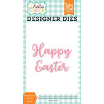 Echo Park - Hello Easter Collection - Designer Dies - Happy Easter Word 3