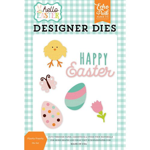 Echo Park - Hello Easter Collection - Designer Dies - Hippity Hoppity