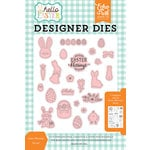 Echo Park - Hello Easter Collection - Designer Dies - Easter Blessings