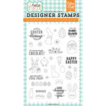 Echo Park - Hello Easter Collection - Clear Acrylic Stamps - Easter Blessings