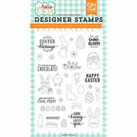 Echo Park - Hello Easter Collection - Clear Photopolymer Stamps - Easter Blessings