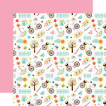 Echo Park - Hello Spring Collection - 12 x 12 Double Sided Paper - Happy Spring