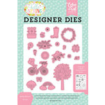 Echo Park - Hello Spring Collection - Designer Dies - Spring Showers