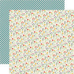 Echo Park - Homegrown Collection - 12 x 12 Double Sided Paper - Country Floral
