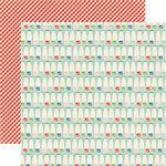 Echo Park - Homegrown Collection - 12 x 12 Double Sided Paper - Milk Bottles