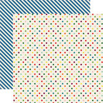 Echo Park - Homegrown Collection - 12 x 12 Double Sided Paper - Homegrown Dots