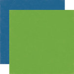 Echo Park - Homegrown Collection - 12 x 12 Double Sided Paper - Green