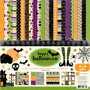Echo Park - Happy Halloween Collection - Collection Kit, CLEARANCE