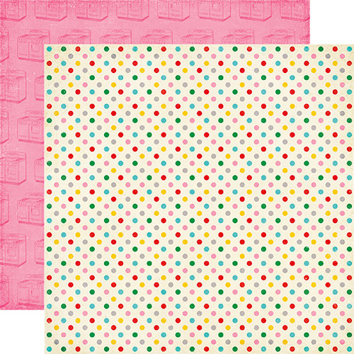 Echo Park - Happiness is Homemade Collection - 12 x 12 Double Sided Paper - Sprinkles