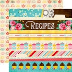 Echo Park - Happiness is Homemade Collection - 12 x 12 Double Sided Paper - Border Strips
