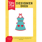 Echo Park - Happiness is Homemade Collection - Designer Dies - Fancy Apron
