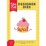 Echo Park - Happiness is Homemade Collection - Designer Dies - Berry Sweet Cupcake