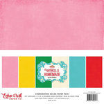 Echo Park - Happiness is Homemade Collection - 12 x 12 Paper Pack - Solids
