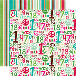 Echo Park - Holly Jolly Christmas Collection - 12 x 12 Double Sided Paper - Comfort and Cheer