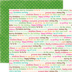 Echo Park - Holly Jolly Christmas Collection - 12 x 12 Double Sided Paper - Glad Tidings