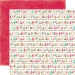 Echo Park - Holly Jolly Christmas Collection - 12 x 12 Double Sided Paper - Fa-La-La-La-La