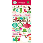 Echo Park - Holly Jolly Christmas Collection - Chipboard Stickers
