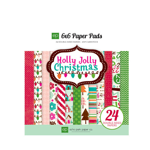 Echo Park - Holly Jolly Christmas Collection - 6 x 6 Paper Pad