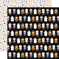 Echo Park - Halloween Magic Collection - 12 x 12 Double Sided Paper - Costume Party