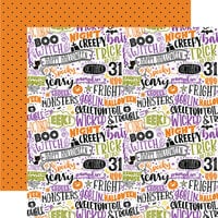 Echo Park - Halloween Magic Collection - 12 x 12 Double Sided Paper - Trick or Treat