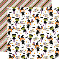Echo Park - Halloween Magic Collection - 12 x 12 Double Sided Paper - Happy Halloween