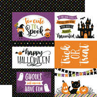 Echo Park - Halloween Magic Collection - 12 x 12 Double Sided Paper - 6 x 4 Journaling Cards