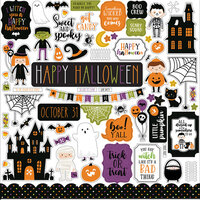 Echo Park - Halloween Magic Collection - 12 x 12 Cardstock Stickers - Elements