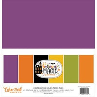 Echo Park - Halloween Magic Collection - 12 x 12 Paper Pack - Solids