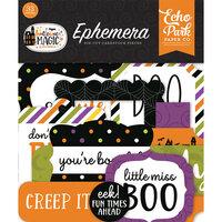 Echo Park - Halloween Magic Collection - Ephemera