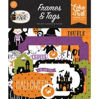 Echo Park - Halloween Magic Collection - Ephemera - Frames and Tags